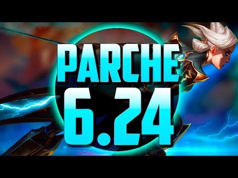CAMILLE y NAVIDAD SANGRIENTA | PARCHE 6.24 (League of Legends)