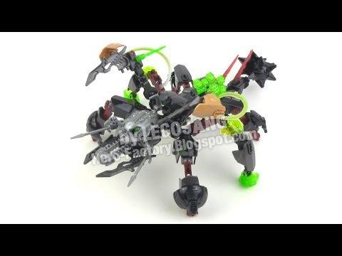 Hero Factory Breakout wave 1 combiner 5: Rocka + Black Phantom