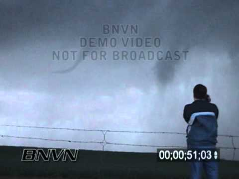 3/27/2004 Okarche OK Tornado Stock Video