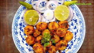 10 मिनट में बनाये चटपटे आलू स्नैक्स | Chatpate Dum Aloo | चटपटे दम आलू | Aloo Snacks Recipe In Hindi