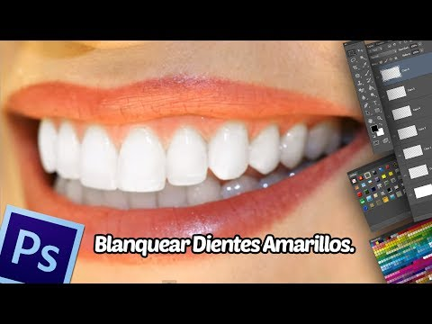 Tutorial Photoshop: Blanquear Dientes Amarillos.