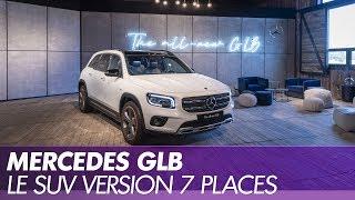 Mercedes GLB, le nouveau SUV à 7 places