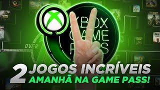 2 JOGOS INCRÍVEIS SERÃO LANÇADOS AMANHÃ NA XBOX GAME PASS