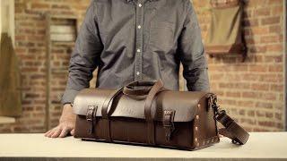 The Tradesman Bag   Full-Grain Leather Tool Bag