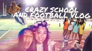 Crazy School and Football Game Vlog // Valentina Hidalgo