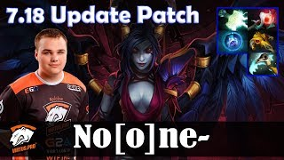 No[o]ne - Queen of Pain MID | 7.18 Update Patch | Dota 2 Pro MMR Gameplay