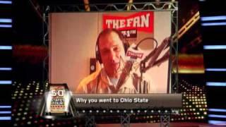Chris Spielman Explains the Ohio State-Michigan Rivalry on ESPN