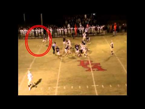 Brandon Rankhorn Junior Rossville Christian Academy Wolves Football Highlight Video
