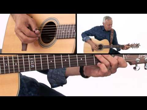 Tommy Emmanuel Guitar Lesson - Classic Fingerstyle Licks Demo
