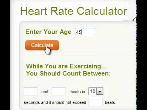 Target Heart Rate For Weight Loss