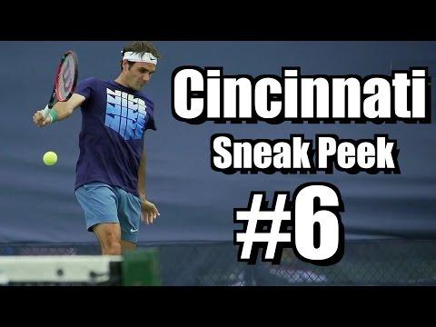 Cincinnati 2014 |  Sneak Peek #6 | Federer, Sock, Kohlschreiber, Janowisz