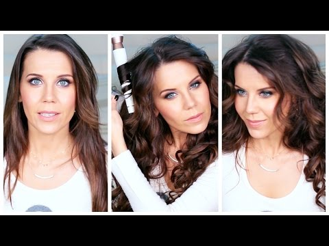 HOW I CURL MY HAIR TUTORIAL | T3