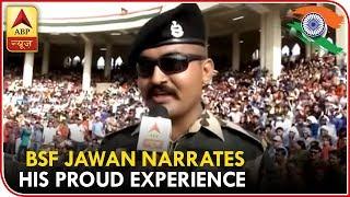 Motivator Abhishek At Wagah Border Narrates His Proud Experience   ABP News