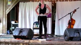 Saro, Ballad Singer at 2012 Whippoorwill Festival
