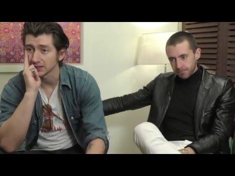 Alex Turner & Miles Kane funny Moments