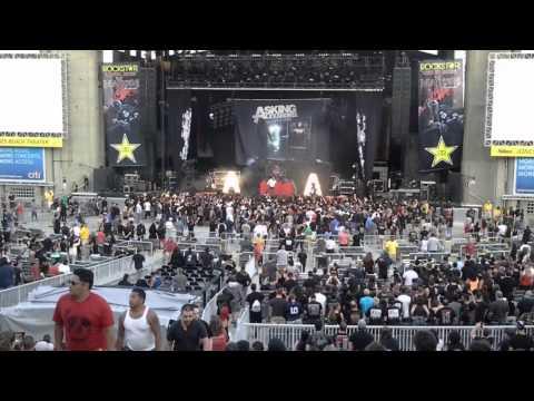 Asking Alexandria - Live at Rockstar Energy Drink...