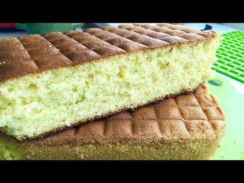 Самый лучший рецепт бисквита! Нежный и очень вкусный бисквит.