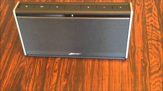 Bose SoundLink® Wireless Mobile Speaker Review