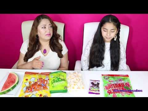 GUMMY FOOD VS REAL FOOD CHALLENGE!! B2cutecupcakes