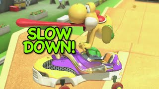 Watch Mario Slow Down video