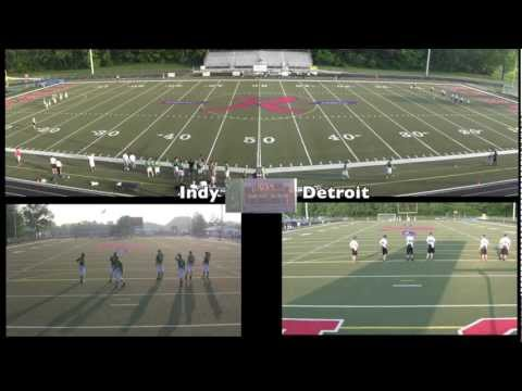 Indy vs. Detroit (1st Quarter) – AUDL Ultimate Disc Game 1