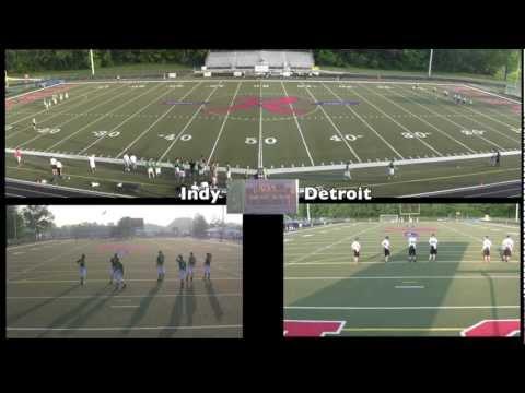 Indy vs. Detroit (1st Quarter) – AUDL Ultimate Disc Game 1