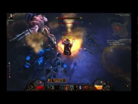 Diablo III - Barbarian - MP10 Infernal Machine - All Uber Bosses Solo