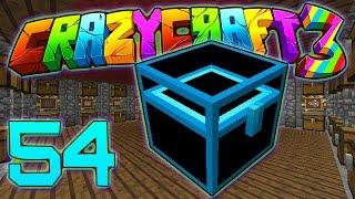 Minecraft Crazy Craft 3.0: CHEST ROOM UPGRADE #54 (Modded Roleplay)
