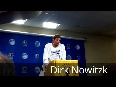 2013-14 Dallas Mavericks Talk About Upcoming Season