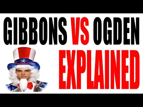 Gibbons vs Ogden Explained in 5 Minutes (1824): US History Review
