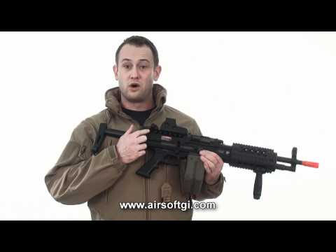 Airsoft GI - ARES Full Metal AMG AKA LMG Light Machine Gun