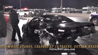 Wild Ride and Crash, Kyle Huettel Corvette and Dave Bowman Mustang Crash Hard Lights Out 7