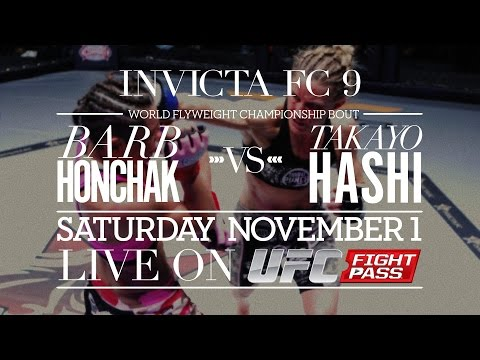 Invicta FC 9: Live on UFC Fight Pass - Nov. 1st
