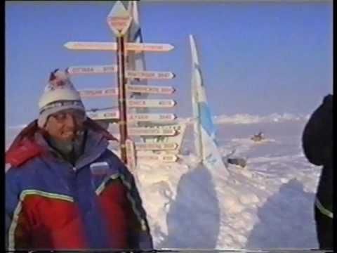 Северный полюс Арктика FOREWER!Собанцева Косточко.ХАТАНГА.Поём на шапке мира