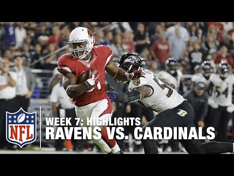 Ravens Vs Cardinals Week 7 Highlights Nfl