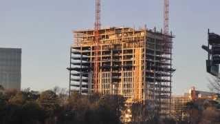 Cox Enterprises Tower - Construction - Sandy Springs - 1/12/2014
