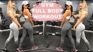 Gym Full Body Workout w Bella Rahbek