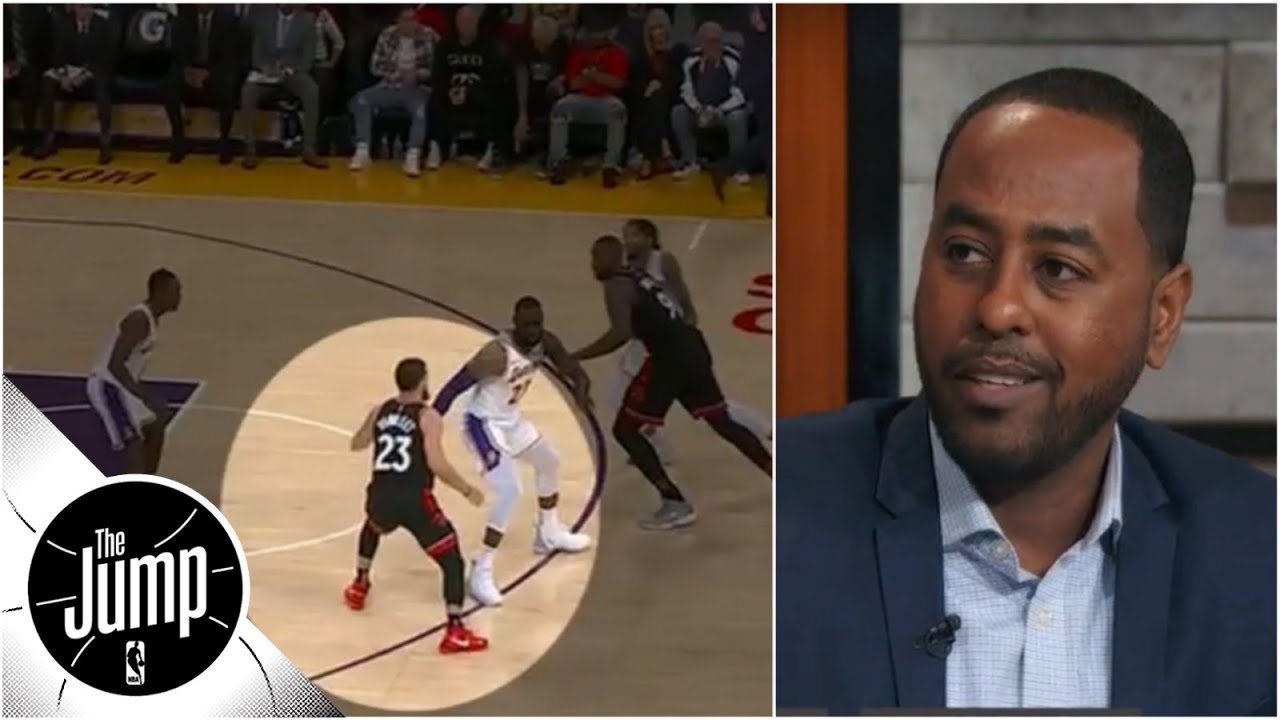 Breaking down film of LeBron James, Lakers' mistakes   The Jump