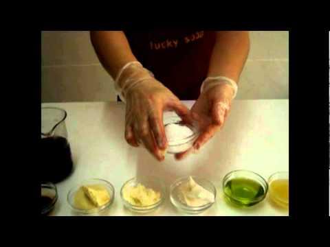 手工皂教學:液體皂 自已diy洗頭水