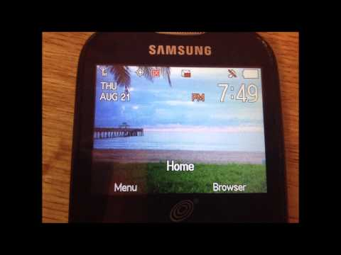 Samsung S380c Review