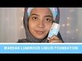 Foundation Friday | Wardah Luminous Liquid Foundation thumbnail