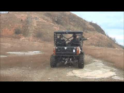 ODES UTV Riding video of the Dominator 800cc UTV Side by Side