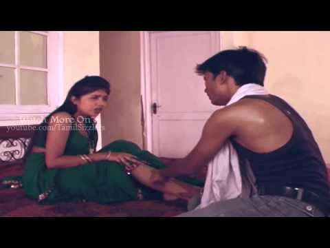 Hot Aunty Sexy Leg Massage By Tamil Boy Aakash   Tamil Sizzlers video