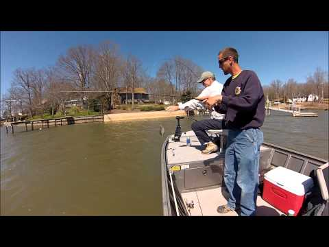 Lake Greenwood Spring Crappie Fishing