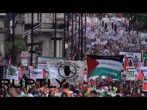 'Free Palestine!' World marches to protest Gaza victims