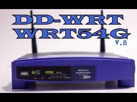 Como instalar firmware DD-WRT en un router linksys WRT54G ...