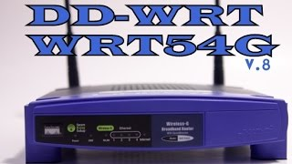 Instalar firmware custom DD-WRT Router Linksys WRT54G  v8