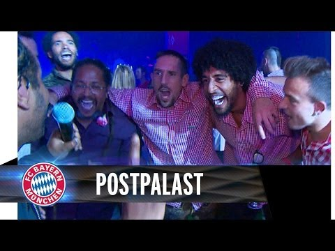 Exclusive FC Bayern Champions party