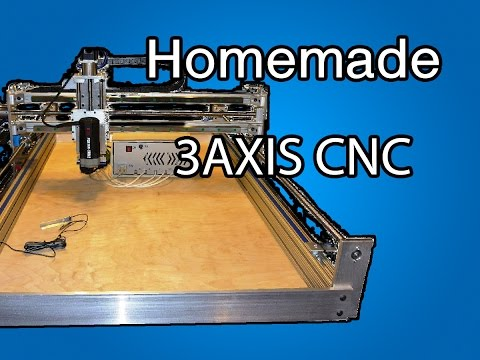 Homemade 3 Axis CNC Machine Review