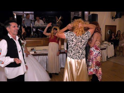 Timi és Marci esküvői mulatós videó, Bolondmenyasszony tánc, buli, Újhartyán Faluközpont